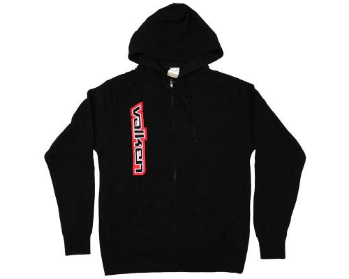 Valken Zip-Up Hooded Sweatshirt - Side Logo