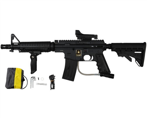 Tippmann US Army Alpha Black Elite Sniper Package