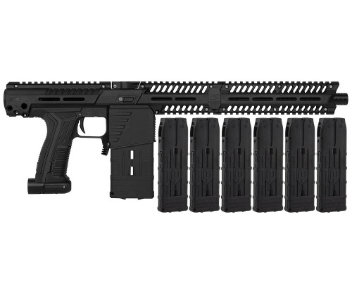 Planet Eclipse Mag Fed EMEK MG100 (PAL ENABLED) w/ 6 Additional (20 Round) Magazines