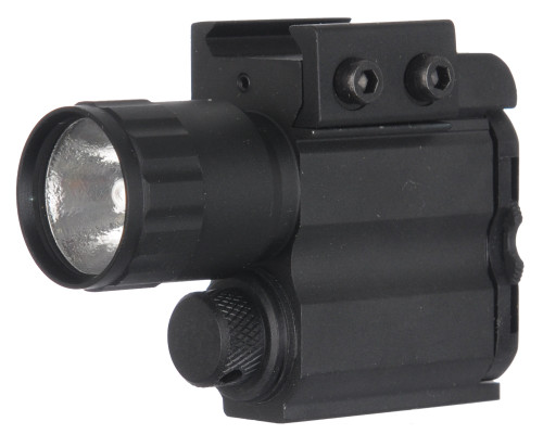 UTG Multi Functional Rail Mounted Compact Flashlight For Rifles (LT-TLP08)
