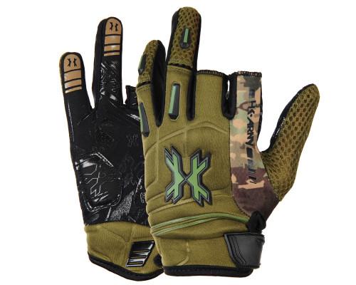 HK Army Hardline Gloves - Olive Camo