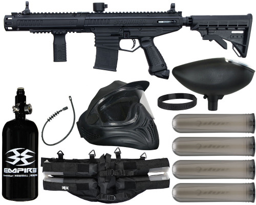 Tippmann Gun Package Kit - Stormer Elite Dual Fed - Legendary