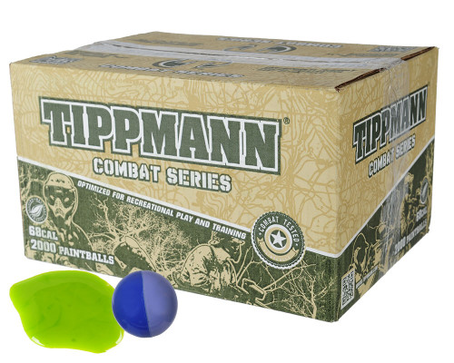 Tippmann Combat Paintballs - 1,000 Rounds