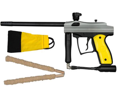 Rental Opus .50 Caliber Paintball Gun - Kingman Spyder - Silver Grey