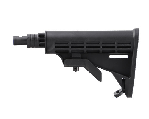Warrior 6 Point Collapsible Tactical Stock - Spyder