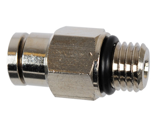 Kingman Spyder Replacement Part #HSE003 - Metric Straight Macroline Fitting