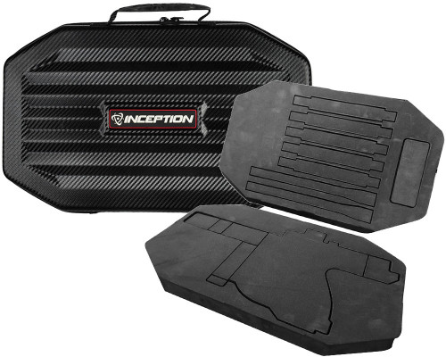 Inception Designs Large Carbon Fiber Protective Gun Case w/ High Density Foam