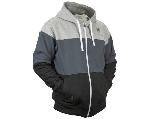 Planet Eclipse Zip-Up Hooded Sweatshirt - Flash