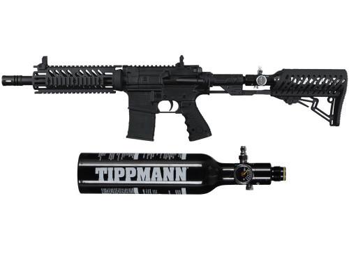 Tippmann TMC Paintball Gun w/ TMC Adjustable Air-Thru Stock w/ Free 13/3000 Tank