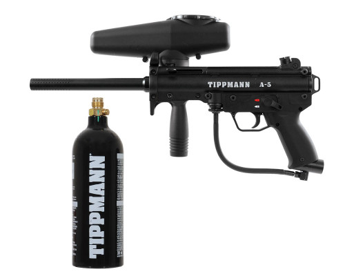 Tippmann A5 Paintball Gun w/ Free 20oz CO2 Tank