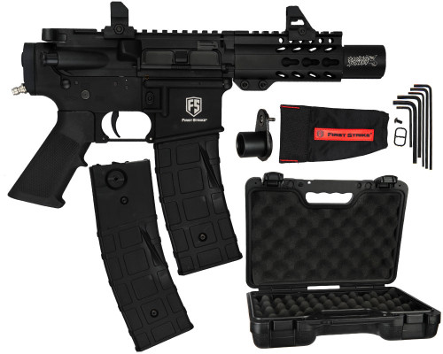 First Strike T15 Machine Paintball Pistol Marker - Black