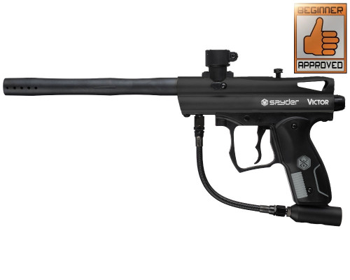 2012 Spyder Victor Paintball Gun - Diamond Black