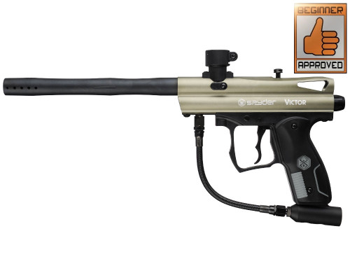 2012 Spyder Victor Paintball Gun - Olive Green