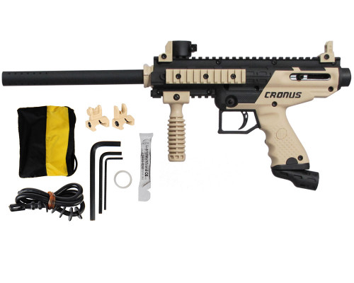 Tippmann Cronus Basic Paintball Gun - Tan/Black