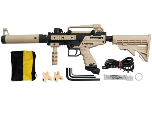 Tippmann Cronus Tactical Paintball Gun - Tan/Black