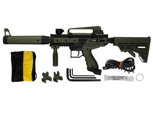 Tippmann Cronus Tactical Paintball Gun - Olive/Black