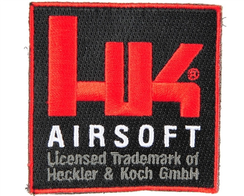 HK Army Velcro Patch - Airsoft Square