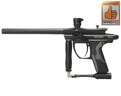 Kingman 2012 Spyder Fenix Paintball Gun - Black