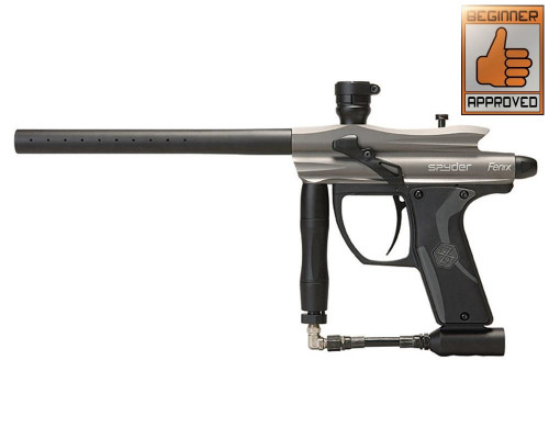 Kingman 2012 Spyder Fenix Paintball Gun - Silver