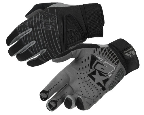 Planet Eclipse 2013 Full Finger Gen 2 Paintball Gloves - Black
