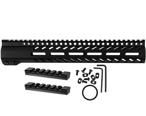 "First Strike Tiberius Arms T15 Replacement Part #410-01-0110 - M-LOK Handguard (12"")"