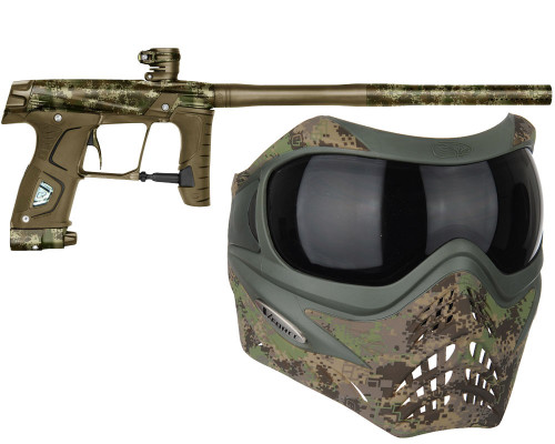 Planet Eclipse GTEK 160R Paintball Marker w/ Free Grill Mask (HDE Earth)