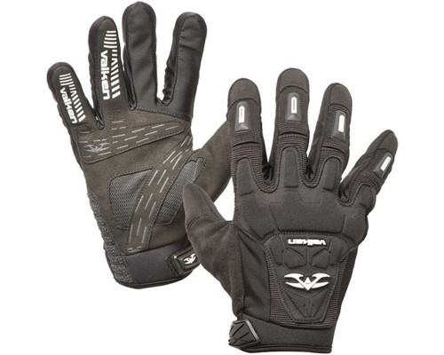 Valken Impact Full Finger Glove - Black