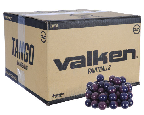 Valken .68 Caliber Paintballs - Tango - 1,000 Rounds