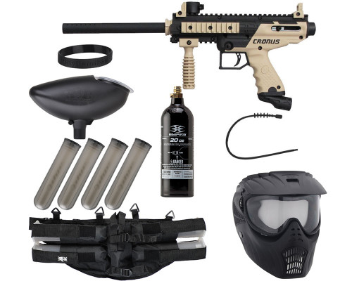 Epic Gun Package Kit - Tippmann Cronus Basic - Tan/Black