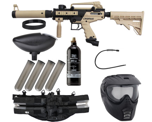 Epic Gun Package Kit - Tippmann Cronus Tactical - Tan/Black