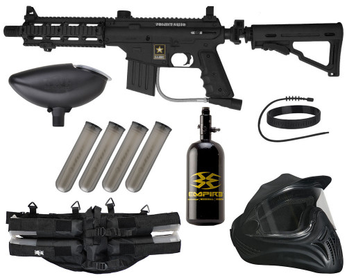 Legendary Gun Package Kit - US Army Project Salvo Paintball Gun