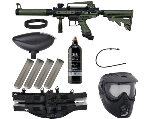 Epic Gun Package Kit - Tippmann Cronus Tactical - Olive/Black