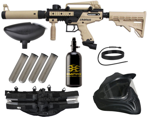 Legendary Gun Package Kit - Tippmann Cronus Tactical Paintball Gun