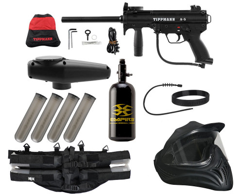 Legendary Gun Package Kit - Tippmann A5 w/ Response Trigger