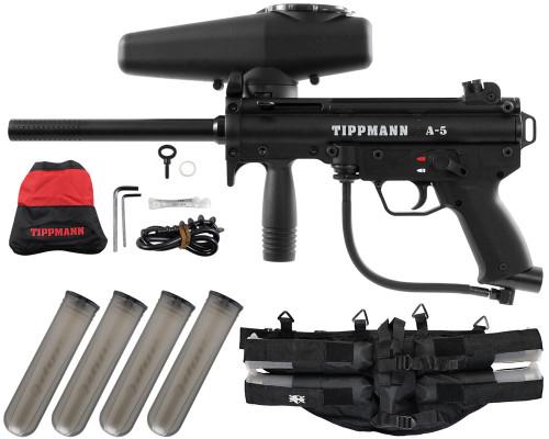Gun Package Kit - Tippmann A5 RT w/ 4+1 Harness
