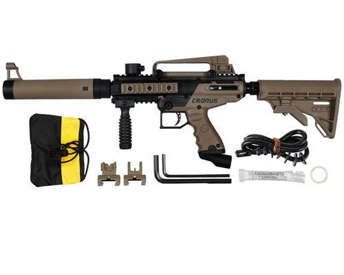 Tippmann Cronus Tactical Paintball Gun - Black/Dark Earth