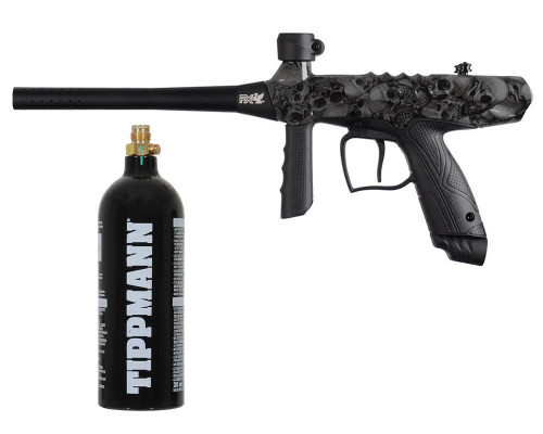 Gryphon Semi Automatic Paintball Marker w/ Free 20oz CO2 Tank - Skull