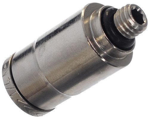 """Planet Eclipse Replacement Part - 1/4"""" Hose To 10-32 UNF Straight Macroline Fitting (SPA401018A000)"""