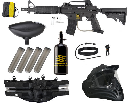 Legendary Gun Package Kit - Tippmann Alpha Black Elite Tactical (Mechanical)