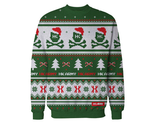 HK Army Pull over X-Mas Sweatshirt - Sweater