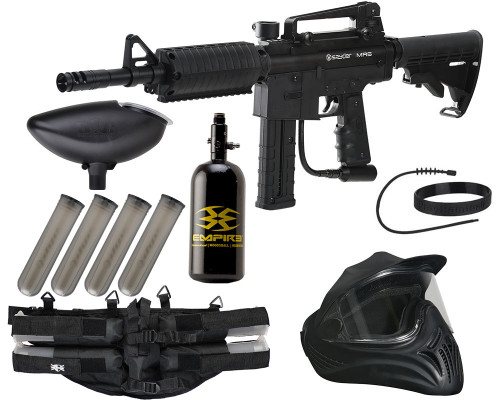 Kingman Gun Package Kit - Spyder MR6 - Legendary - Diamond Black