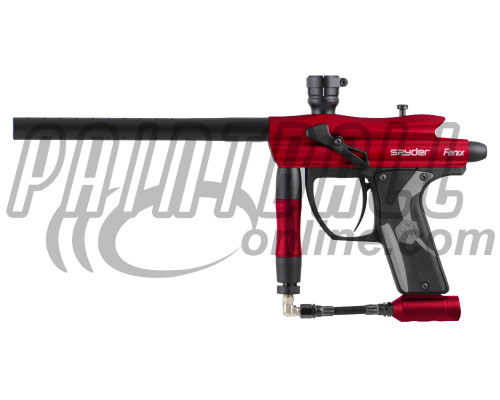 Kingman Spyder Fenix Paintball Marker - Gloss Red