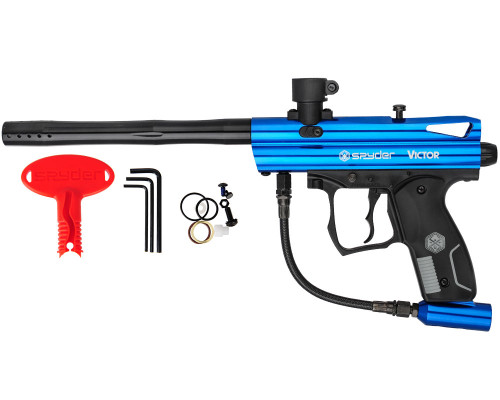 Spyder Victor Paintball Marker - Gloss Blue