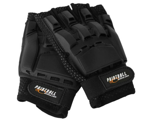 CORE Hard Top Half Finger Paintball Gloves