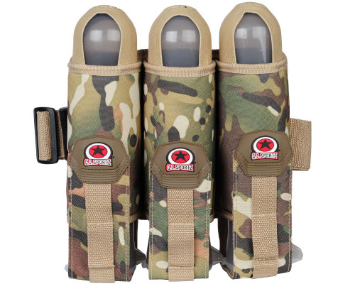 GI Sportz 3 Pod Paintball Harnesses w/ Belt