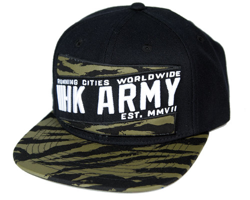 HK Army Snap Back Casual Hat - Brushed