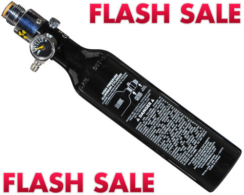 FLASH SALE - First Strike Pepper Ball Compressed Air Paintball Tank - 13/3000