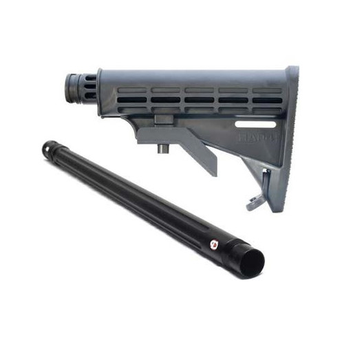 """Collapsible Stock and 20"""" Sniper Barrel Combo - Valken SW-1"""