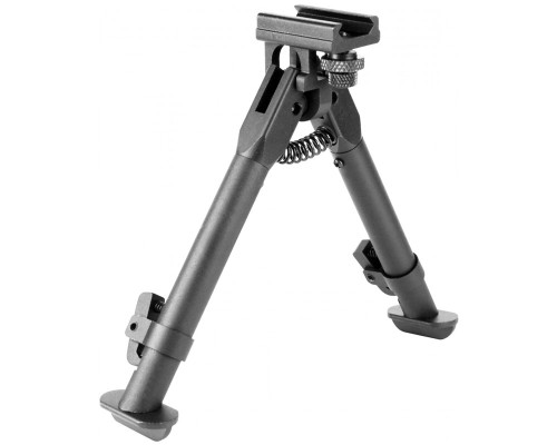 Aim Sports Short Rail Mount Bipod For AR-15 Style Rifles (BPARSS)
