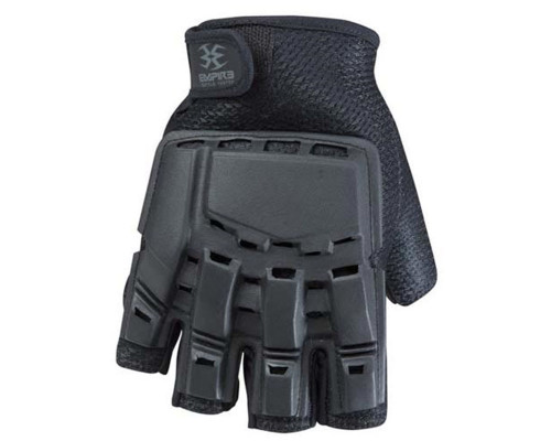 Empire Battle Tested THT Hard Back Fingerless Paintball Gloves